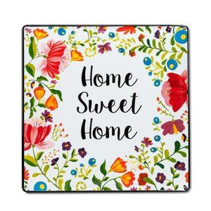 Home Sweet Home Metal Sign